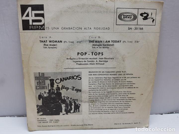 Discos de vinilo: SINGLE-POP TOPS-THAT WOMAN en funda original año 1968 - Foto 2 - 183849457