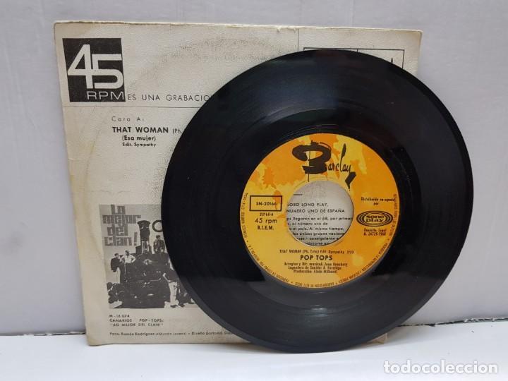 Discos de vinilo: SINGLE-POP TOPS-THAT WOMAN en funda original año 1968 - Foto 3 - 183849457