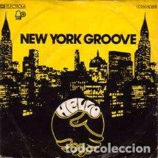 Discos de vinilo: HELLO - NEW YORK GROOVE (7, SINGLE) LABEL:BELL RECORDS, EMI ELECTROLA CAT#: 1C 006-96 898 . Lote 183851816