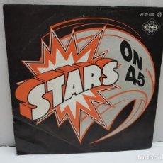 Discos de vinilo: SINGLE-STARS ON 45- EN FUNDA ORIGINAL AÑO 1981. Lote 183855981