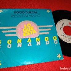 Discos de vinilo: ROCIO DURCAL ME GUSTAS MUCHO/LA MUERTE DEL PALOMO 7'' 1979 ARIOLA PROMO. Lote 183856503