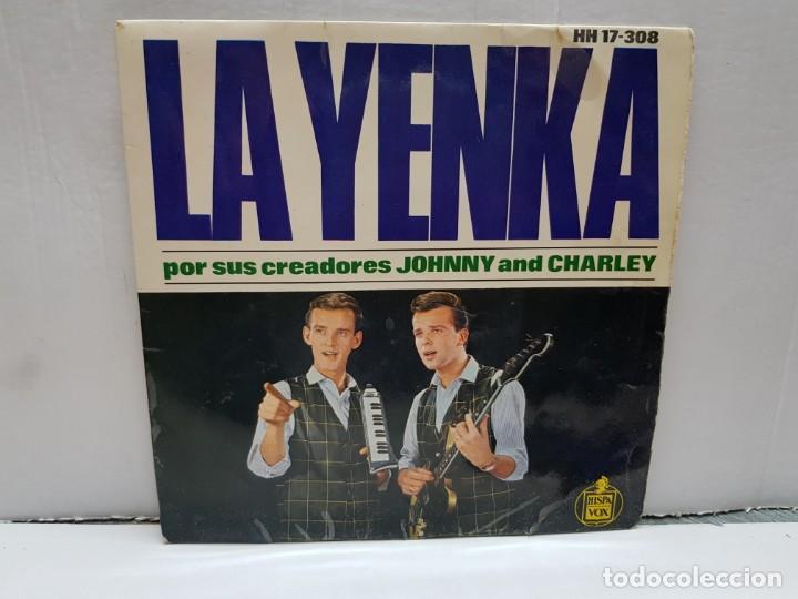 SINGLE-LA YENKA- EN FUNDA ORIGINAL AÑO 1964 (Música - Discos - Singles Vinilo - Pop - Rock - Internacional de los 70)