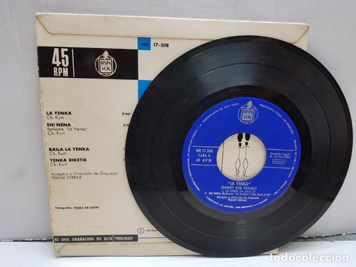 Discos de vinilo: SINGLE-LA YENKA- en funda original año 1964 - Foto 3 - 183857283