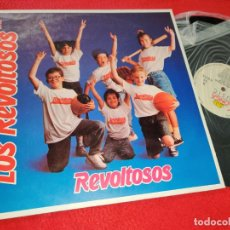 Discos de vinilo: LOS REVOLTOSOS REVOLTOSOS LP 1988 KONGA MUSIC. Lote 183858356