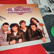 Discos de vinilo: EL REGRESO ATRACCION FATAL LP 1991 BB RECORDS. Lote 183858563