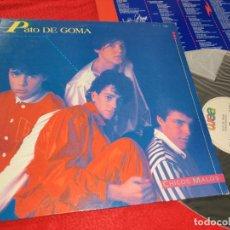 Discos de vinilo: PATO DE GOMA CHICOS MALOS LP 1984 WEA. Lote 183858753