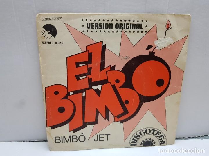 SINGLE-EL BIMBO-BIMBO JET EN FUNDA ORIGINAL AÑO 1974 (Música - Discos - Singles Vinilo - Pop - Rock - Internacional de los 70)
