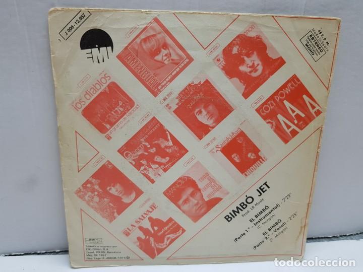Discos de vinilo: SINGLE-EL BIMBO-BIMBO JET en funda original año 1974 - Foto 2 - 183858756