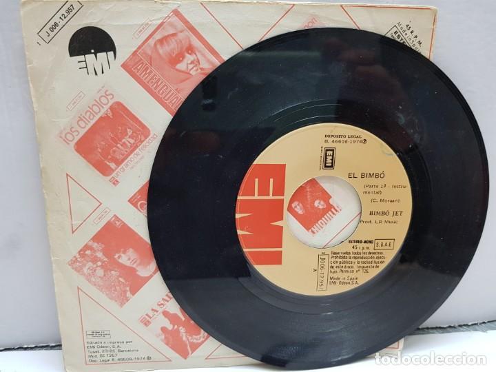 Discos de vinilo: SINGLE-EL BIMBO-BIMBO JET en funda original año 1974 - Foto 3 - 183858756