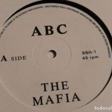 Discos de vinilo: THE MAFIA / J.F.K - ABC / GISMO - 1988. Lote 183859378
