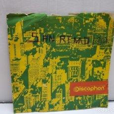 Discos de vinilo: SINGLE-SAN REMO 1968- FUNDADOR EN FUNDA ORIGINAL . Lote 183859530