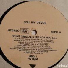 Discos de vinilo: BELL BIV DEVOE - DO ME! - 1990. Lote 183859612