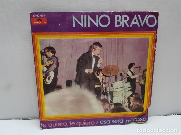 SINGLE-NINO BRAVO- ESA SERA MI CASA EN FUNDA ORIGINAL AÑO 1970 (Música - Discos - Singles Vinilo - Solistas Españoles de los 70 a la actualidad)