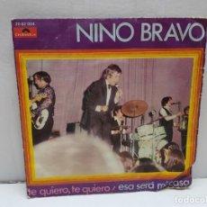 Discos de vinilo: SINGLE-NINO BRAVO- ESA SERA MI CASA EN FUNDA ORIGINAL AÑO 1970 . Lote 183859975