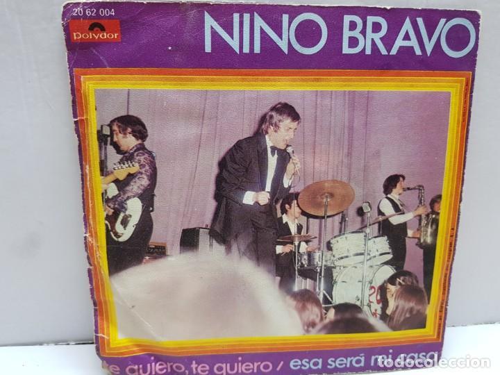 Discos de vinilo: SINGLE-NINO BRAVO- ESA SERA MI CASA en funda original año 1970 - Foto 2 - 183859975