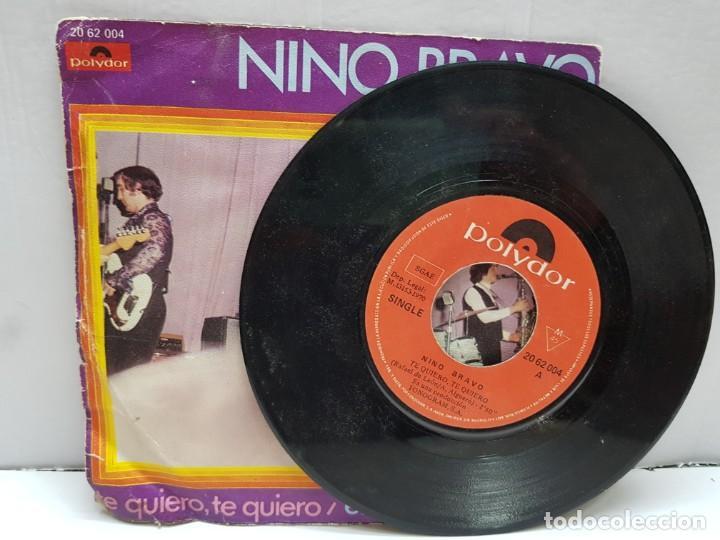 Discos de vinilo: SINGLE-NINO BRAVO- ESA SERA MI CASA en funda original año 1970 - Foto 3 - 183859975
