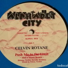 Discos de vinilo: CELVIN ROTANE - PUSH ME TO THE LIMIT - 1996. Lote 183860791