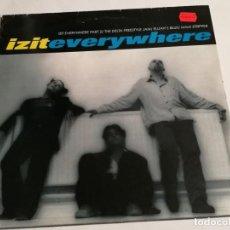 Discos de vinilo: IZIT - EVERYWHERE EP - 1994. Lote 183860975