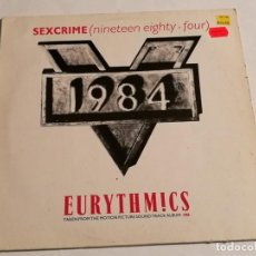 Discos de vinilo: EURYTHMICS - SEXCRIME (NINETEEN EIGHTY · FOUR) - 1984. Lote 183861190