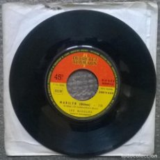Discos de vinilo: LES MISSILES. MARILYN/ SACRE DOLLAR. DUCRETET THOMSON, FRANCE 1963 SINGLE. Lote 183861316
