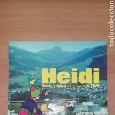 Discos de vinilo: HEIDI BANDA SONORA DE LA RTVE. Lote 183867285