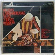 Discos de vinilo: MELODIAS LATINOAMERICANAS VIEJAS Y NUEVAS EDMUNDO ROS LP. Lote 183868792