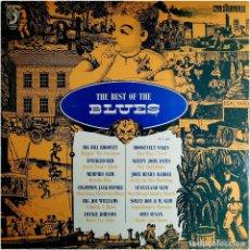 Discos de vinilo: VVAA - THE BEST OF THE BLUES - LP SPAIN 1973 - DISCOPHON / STORYVILLE  671188 . Lote 183868931