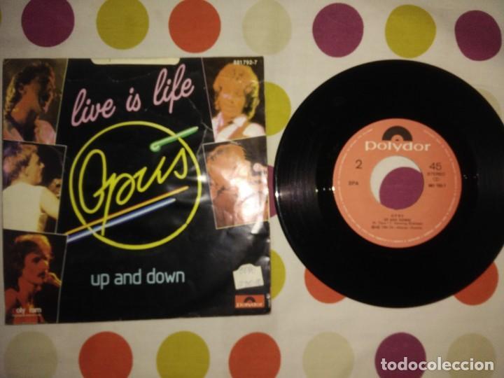 Discos de vinilo: Opus – Live Is Life - Foto 2 - 183868985