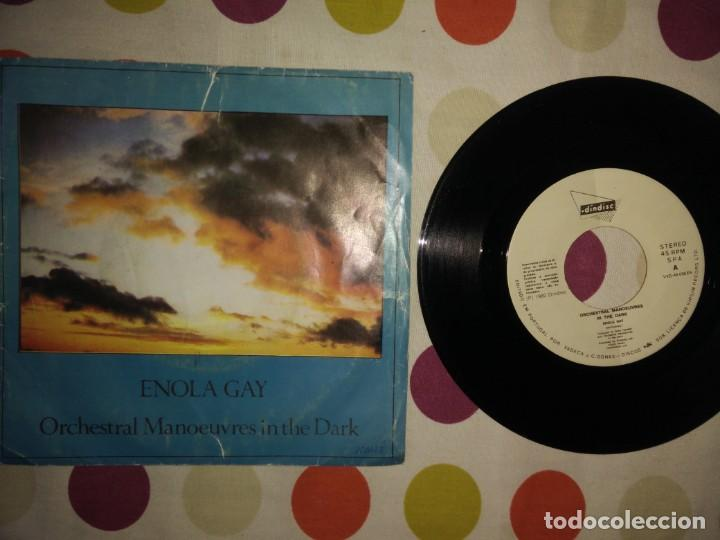 Discos de vinilo: Orchestral Manoeuvres In The Dark – Enola Gay - Foto 1 - 183869005
