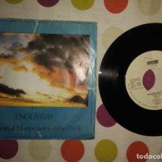 Discos de vinilo: ORCHESTRAL MANOEUVRES IN THE DARK – ENOLA GAY . Lote 183869005