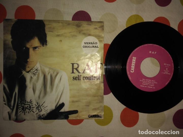 RAF – SELF CONTROL (Música - Discos - Singles Vinilo - Otros estilos)