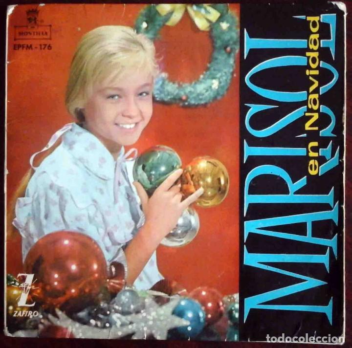 MARISOL EN NAVIDAD - EP CON 4 TEMAS - ZAFIRO 1960 (Música - Discos de Vinilo - EPs - Solistas Españoles de los 50 y 60)