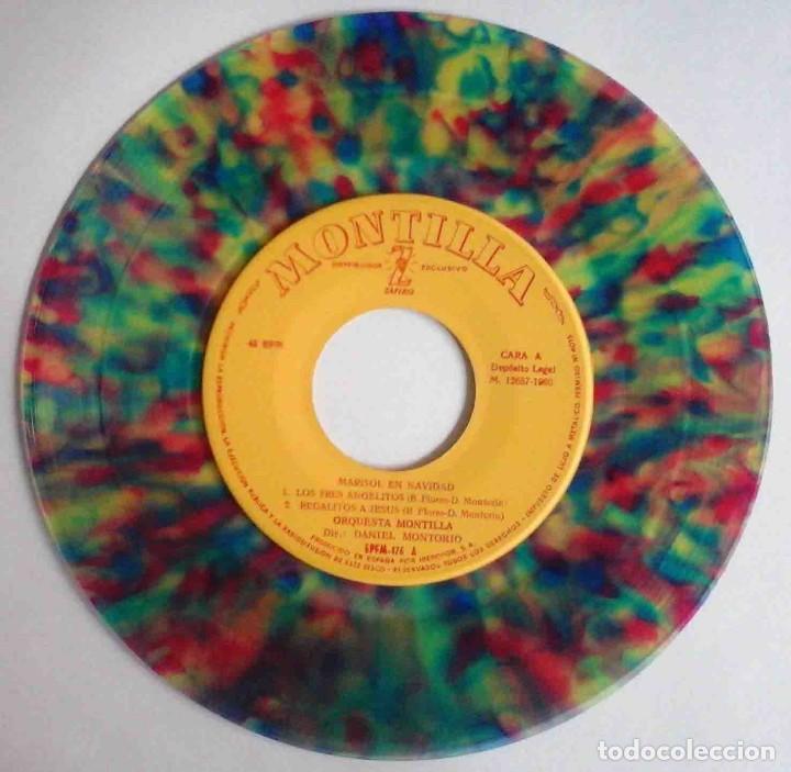 Discos de vinilo: Marisol en Navidad - EP con 4 temas - Zafiro 1960 - Foto 3 - 183869323