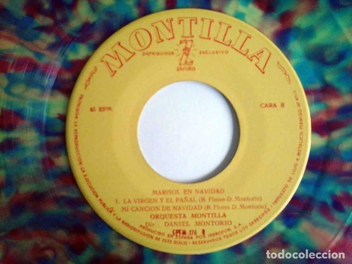 Discos de vinilo: Marisol en Navidad - EP con 4 temas - Zafiro 1960 - Foto 5 - 183869323