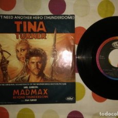 Discos de vinilo: TINA TURNER WE DON'T NEED ANOTHER HERO . Lote 183869417