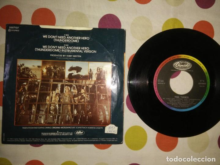 Discos de vinilo: Tina Turner We Don't Need Another Hero - Foto 2 - 183869417