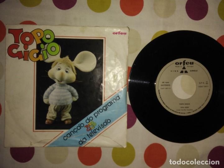 TOPO GIGIO – TOPO GIGIO (Música - Discos - Singles Vinilo - Otros estilos)