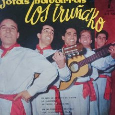 Discos de vinilo: LOS IRUÑA'KO EP SELLO ZAFIRO AÑO 1959 JOTAS NAVARRAS. Lote 183895523
