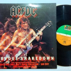 Discos de vinilo: MAXI DISCO 12'' VINILO AC/DC – NERVOUS SHAKEDOWN EDICION ESPAÑOLA DE 1984. Lote 183895975