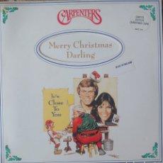 Discos de vinilo: CARPENTERS SINGLE PORTADA DOBLE SELLO A & M RECORDS. Lote 183896897