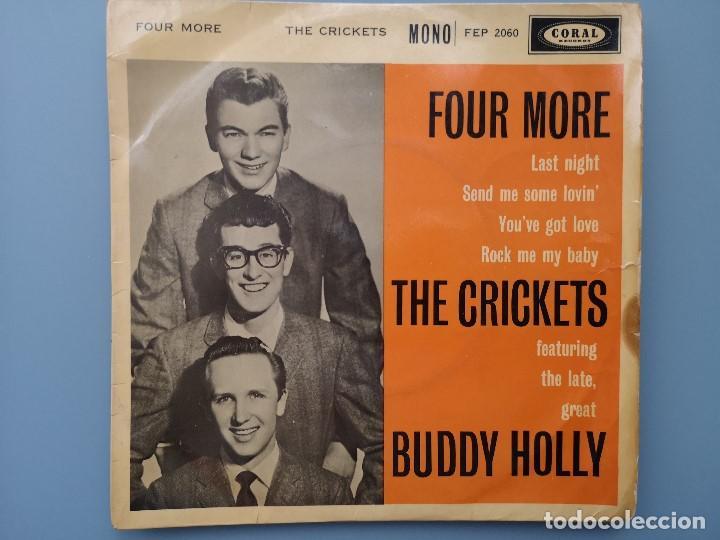 Discos de vinilo: EP BUDDY HOLLY FOUR MORE THE CRICKETS ED INGLESA CORAL RECORDS 1960 FEP 2060 COCHRAN ELVIS VINCENT - Foto 2 - 183897078
