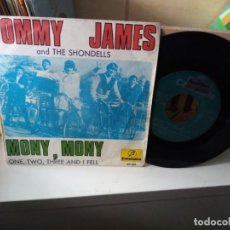 Discos de vinilo: TOMMY JAMES AND THE SHONDELLS – MONY, MONY. Lote 183900342
