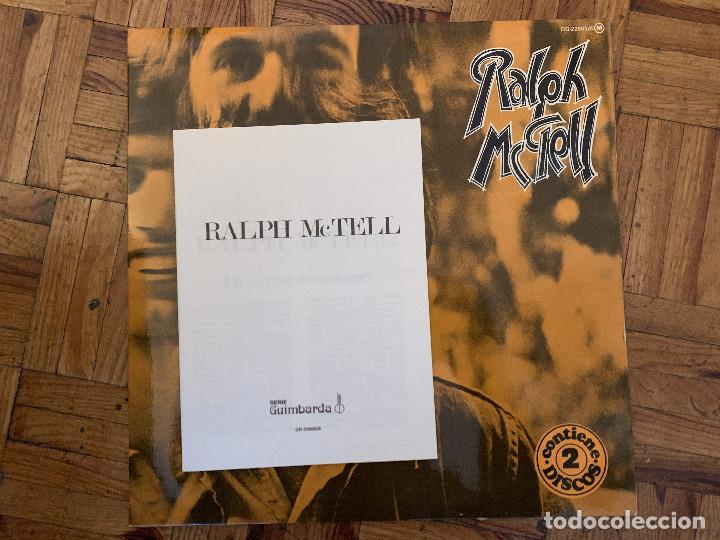 Discos de vinilo: Ralph McTell – Ralph McTell Sello: Transatlantic Records – DD-22005/6 Serie: Guimbarda – 2xlps - Foto 5 - 183900737