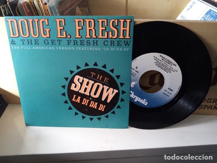 DOUG E. FRESH AND THE GET FRESH CREW ?– THE SHOW & LA DI DA DI (Música - Discos - Singles Vinilo - Techno, Trance y House)