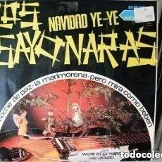 Discos de vinilo: LOS SAYONARAS - NAVIDAD YE YE + 3 (SG) 1966. Lote 183906713