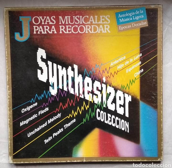 ESTUCHE CON 3 LPS,,JOYAS MUSICALES PARA RECORDAR,,SYNTHESIZER (Música - Discos - LP Vinilo - Techno, Trance y House)