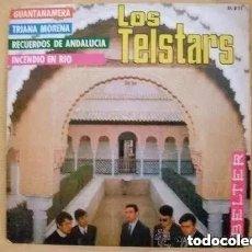 Discos de vinilo: LOS TELSTARS - GUANTANAMERA + 3 (SG) 1967. Lote 183908376