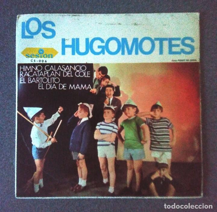 SINGLE EP LOS HUGOMOTES (Música - Discos de Vinilo - EPs - Música Infantil)