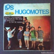 Discos de vinilo: SINGLE EP LOS HUGOMOTES. Lote 183910457