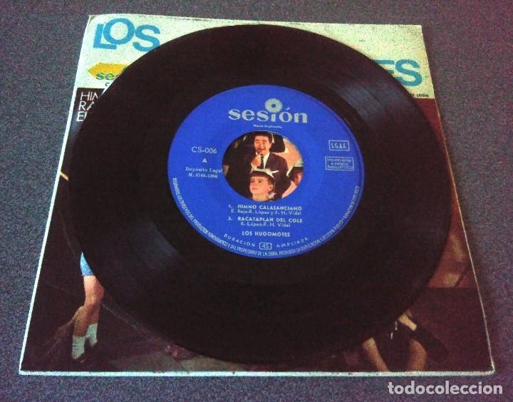Discos de vinilo: Single Ep Los Hugomotes - Foto 2 - 183910457